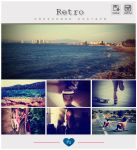 Retro Instagram Photoshop PSD+ATN by friabrisa