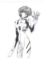 Rei Ayanami by Blueflameskull489