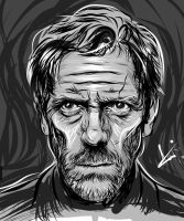 Adobe Ideas - Hugh Laurie Sketch by Atebitninja
