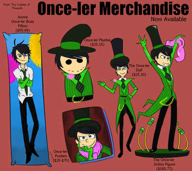 The Once-ler Merchandise by HellCat5698