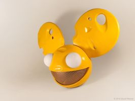 Deadmau5 Cheese Head by torsoboyprops