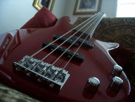 My Epic Ibanez Bass Guitar by samuswolf407