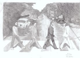 The Beatles Abbey Road by Kino111