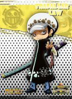 Trafalgar Law Chibi ^_^ by SkyWalker14