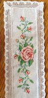 Rose Bookmark by jennyh96