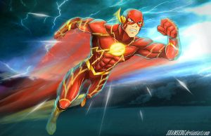Flash - The Fastest Man Alive by shamserg