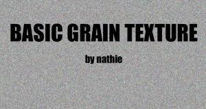 Basic Grain Texture by nathies-stock