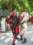 Fanime 2013 Major Wade Wilson and Cammy by Speedway66