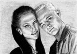 Drusilla and Spike by atlantiss505