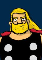 thor quickie by striffle