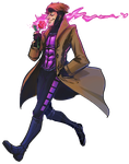 Striffle's Marvel Race - Gambit by PsychedelicMind