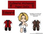 Ed Paper Doll by Malindachan