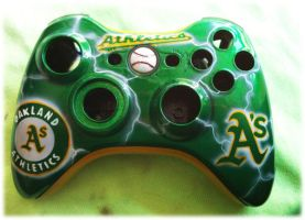 Oakland A's shell finished by chrisfurguson