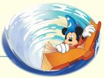 Sorcerer Mickey In A Whirlpool by foxlover35