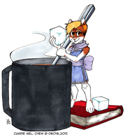 Daily Newf 184 - Help With Tea by d6016