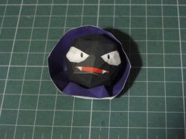 Chibi Gastly Papercraft by bslirabsl