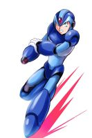 Mega Man X by Penzoom