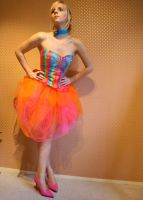 Lollypop Corset Dress by Mariquez