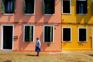 Burano 4 Old Lady by Stelo