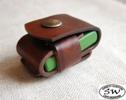 Zippo leather case by swietyleather