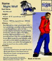 Night Wolf Character Profile by RAM-Horn
