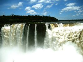 Iguazu Falls 02 by uniquemindcreations