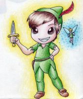 Chibi Pan :FOR SALE: by TranquilSimplicity