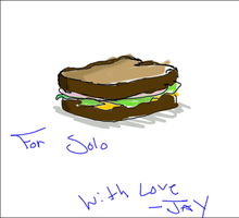 I made you your sandwich by JqotD
