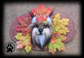 Autumn crown fox wall art! by CreaturesofNat