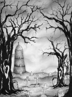 Silence Of The Grave by morbidillusion666