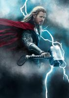 Chris Hemsworth from Thor: The Dark World by fRancisChong
