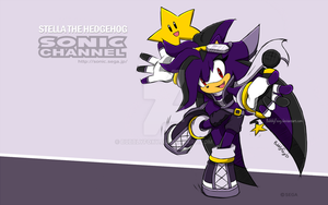 Sonic Channel: Stella the hedgehog by BubblyFoxy