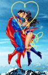 Superman and Wonder Woman by Tony Daniel by godstaff