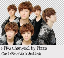Chanyeol PNG pack by Pizza by pizza2407