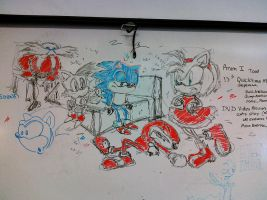 Sonic Mural by mrstupes