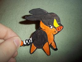 Tepig Paperchild by koala823