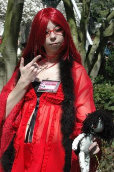 Grell is Lovely Lovely~ by Lucy444