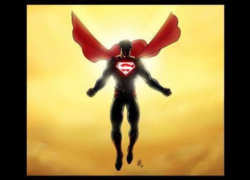 Superman Forever by Vulture34
