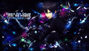 Wallpaper Feel The Power [SAO] by Yumijii