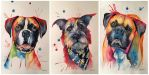 Whimsical Watercolor Pet Portraits by stevegoad