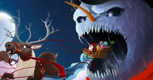SnowMan Vs Santa Claus II by UltimaDX