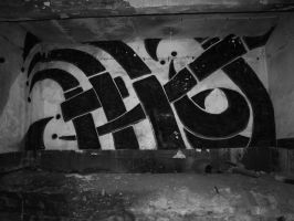 Urbex graffity by Infernomonster
