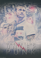 CM Punk: One Nation Under Punk by PainSindicate