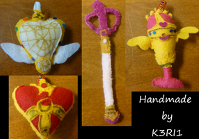 CO: Sailor Moon Items by K3RI1