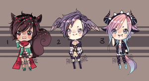 Offer to adopt:: mini batch CLOSED by Pandastrophic