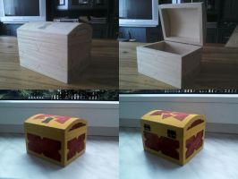 Kingdom Hearts - Basic Small Chest - by WeapondesignerDawe