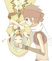 Rune Factory Barrett and Dorothy by mwhip