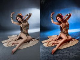 Retouch dancer by hobu4ohok