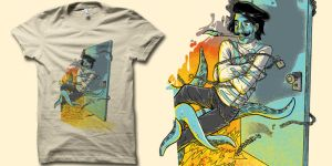 Escape Artist T-shirt by biotwist