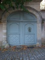 Old Door by Anemya-Stock